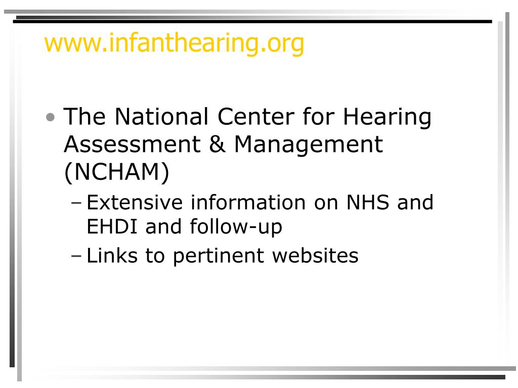 www.infanthearing.org