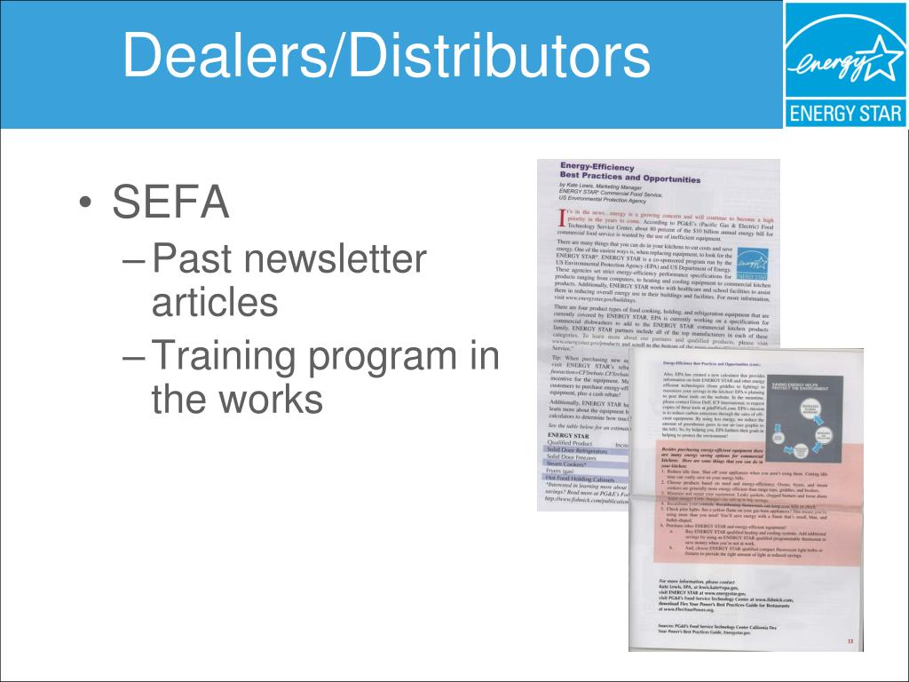 Dealers/Distributors