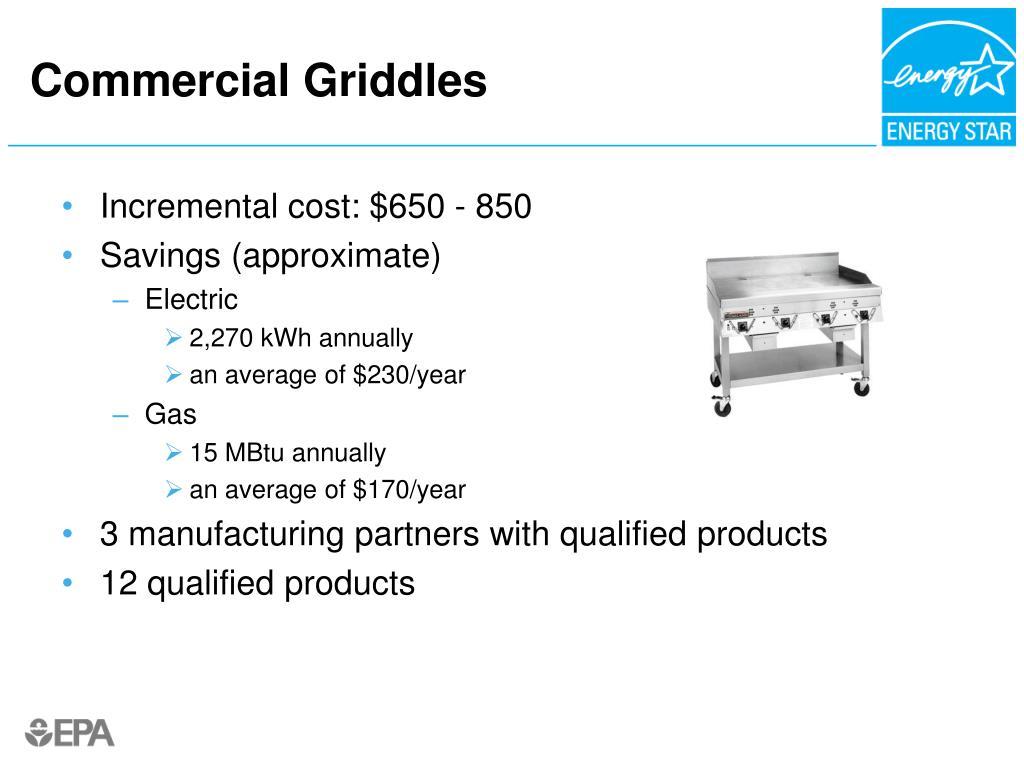 Commercial Griddles