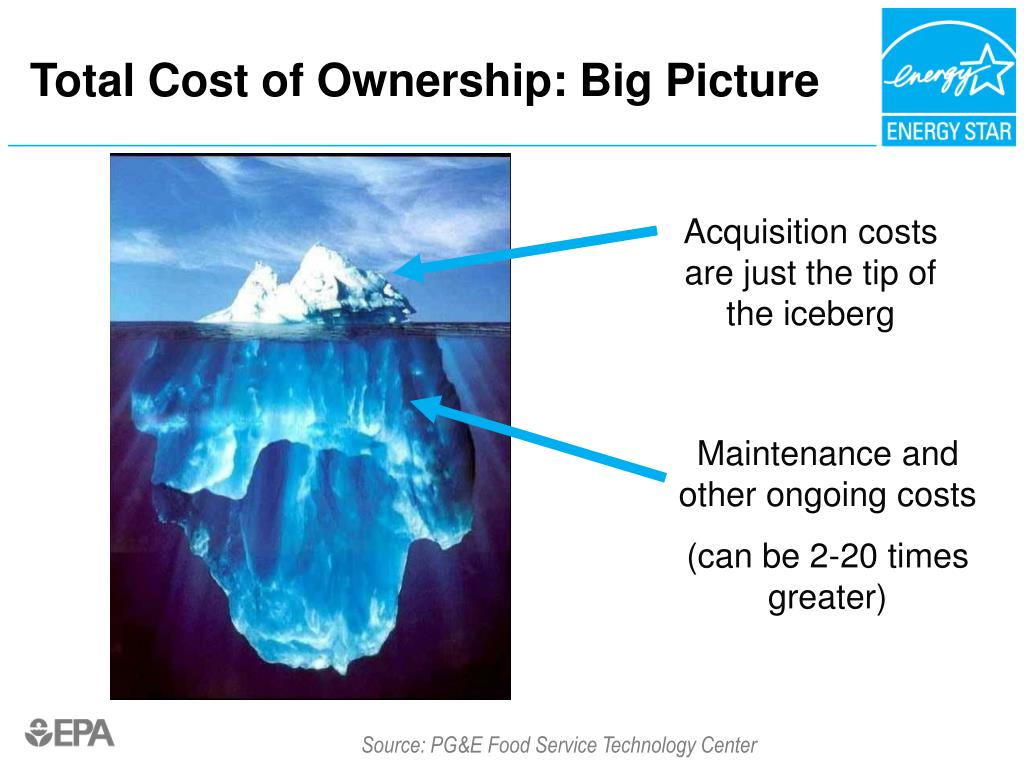 Total Cost of Ownership: Big Picture