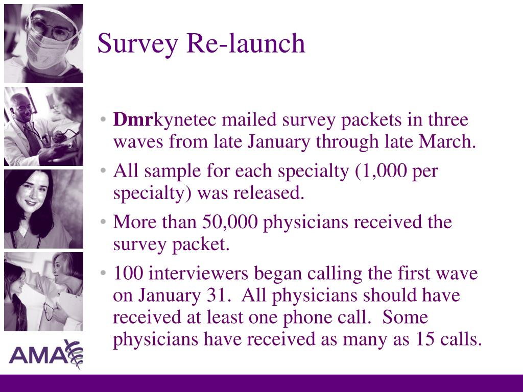 Survey Re-launch