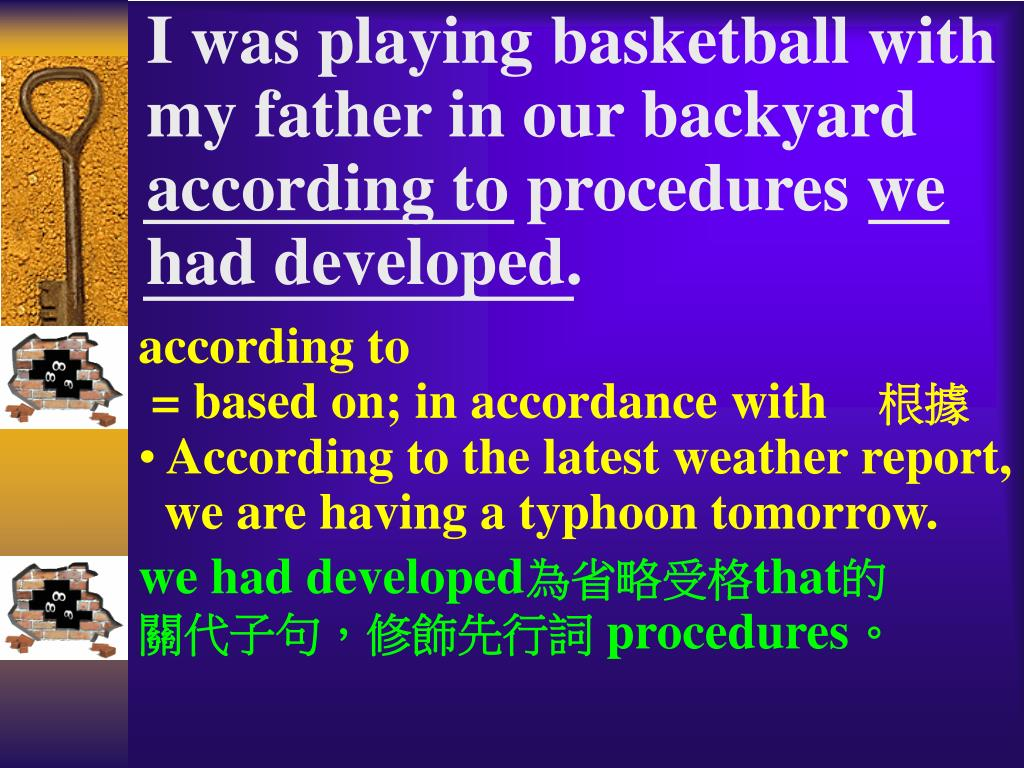 I was playing basketball with
