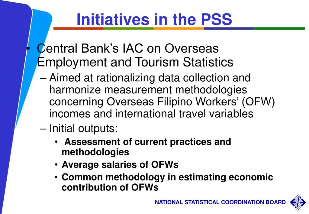 Initiatives in the PSS