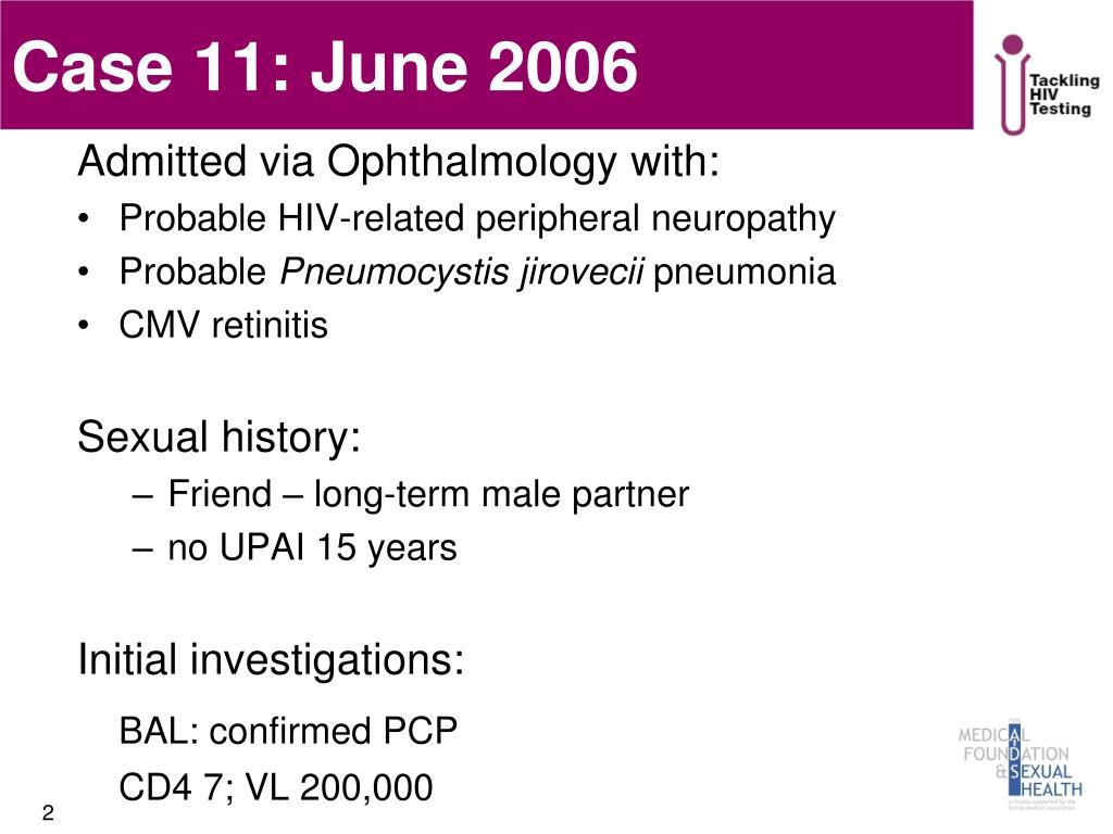 Case 11: June 2006