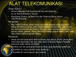 alat telekomunikasi