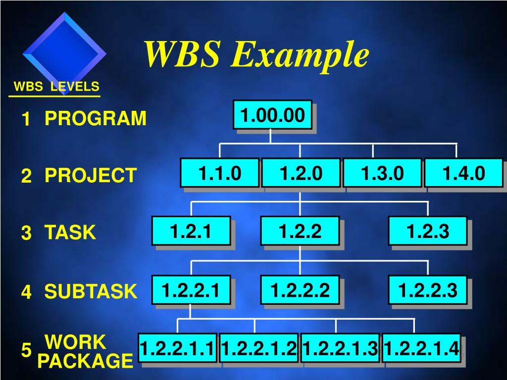 WBS Example
