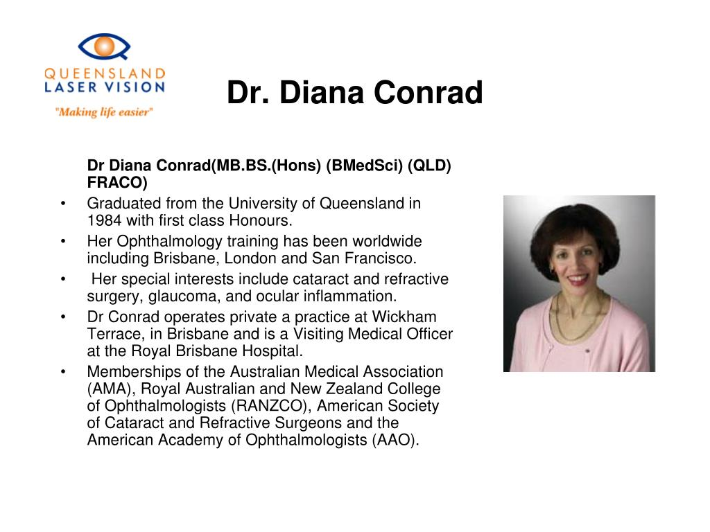 Dr. Diana Conrad