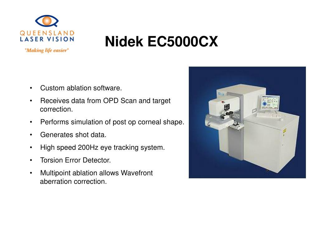 Nidek EC5000CX