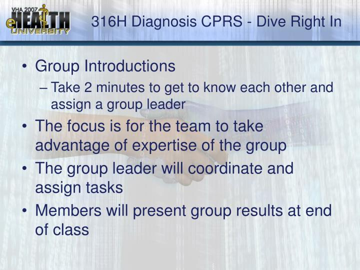 316h diagnosis cprs dive right in3