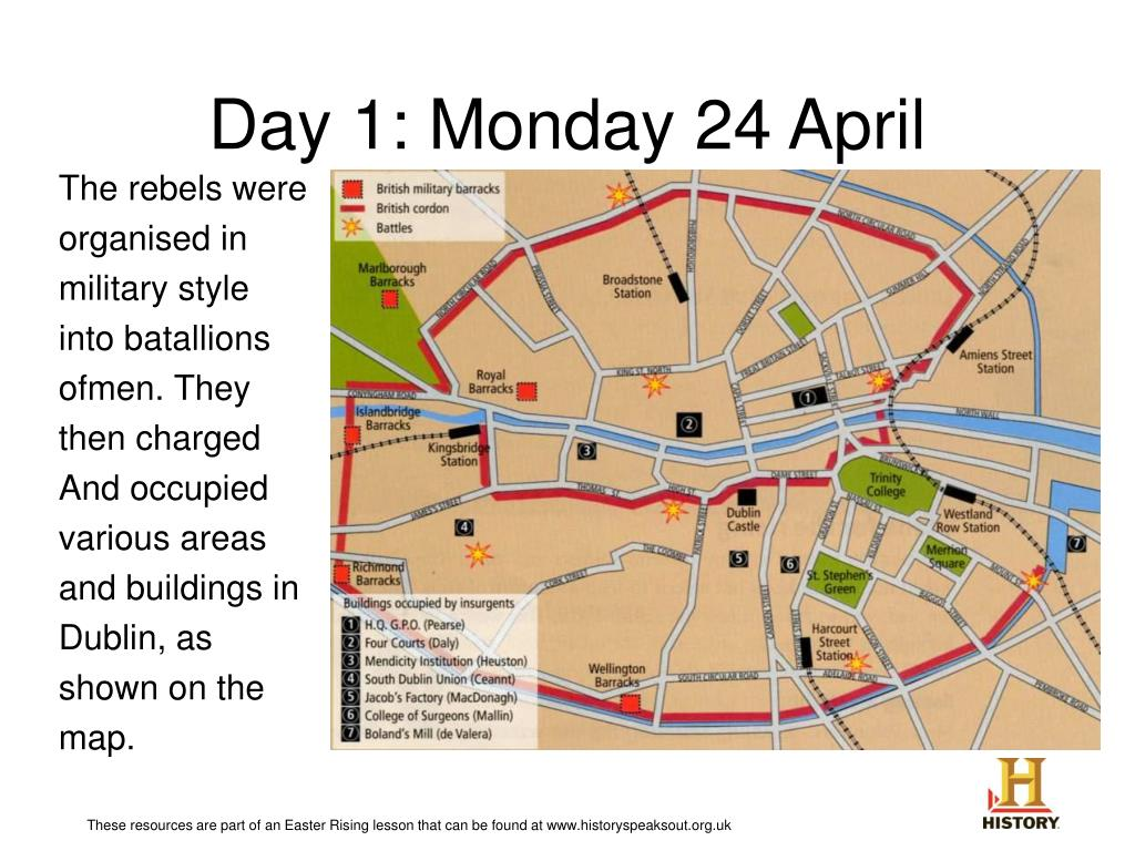 Day 1: Monday 24 April