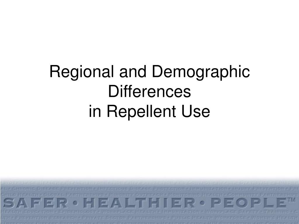 Regional and Demographic Differences