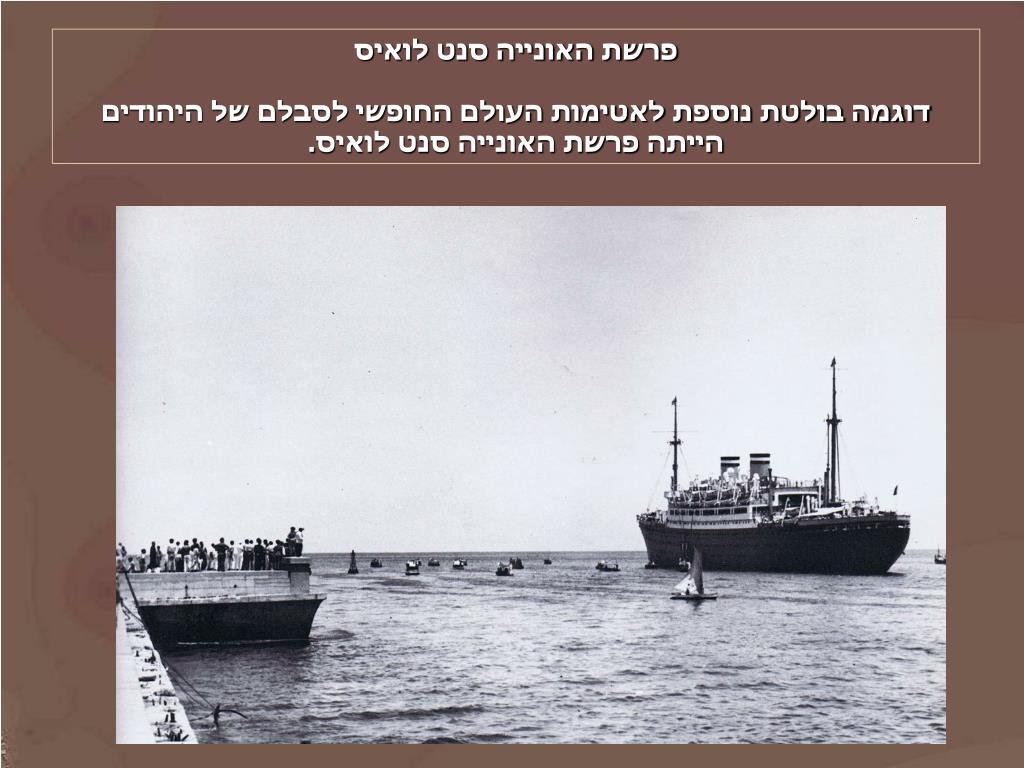 פרשת האונייה סנט לואיס