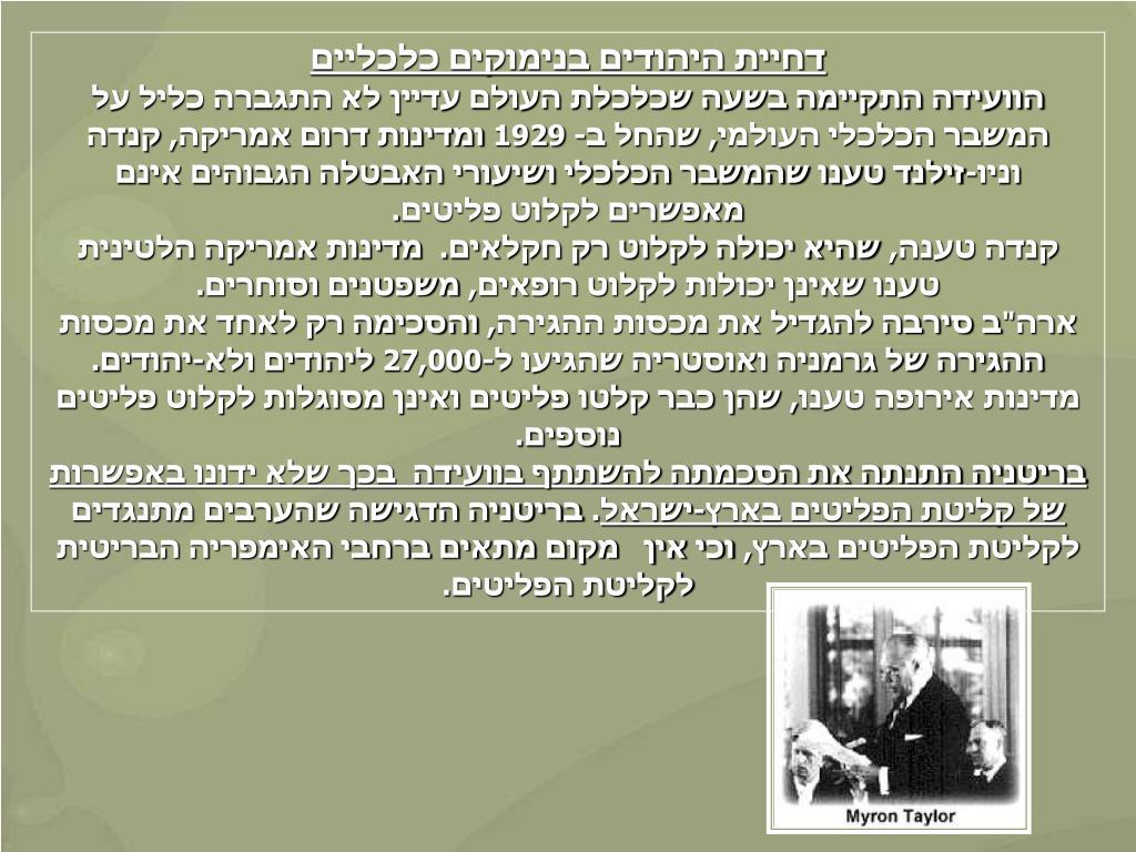 דחיית היהודים בנימוקים כלכליים