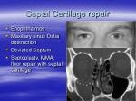 septal cartilage repair
