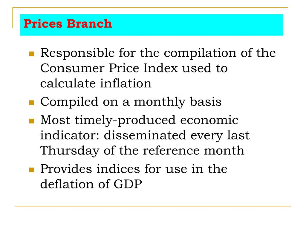 Prices Branch