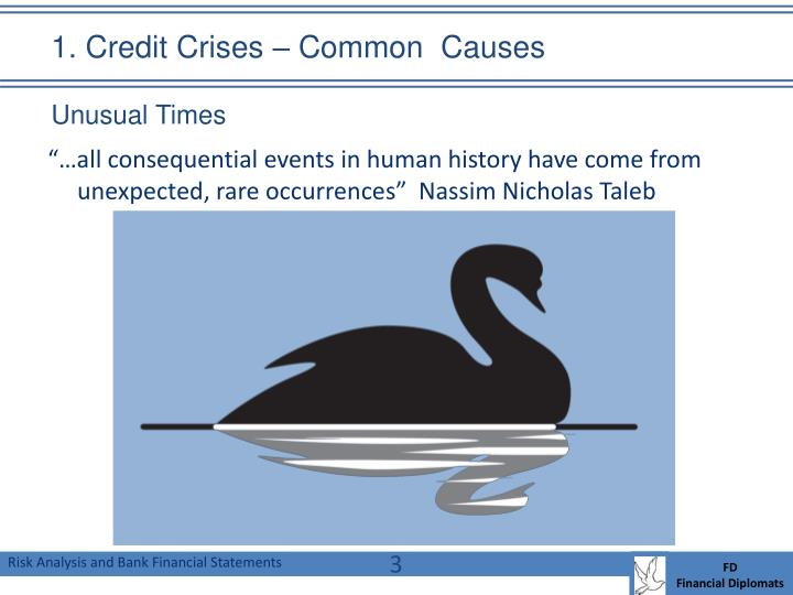 1 credit crises common causes