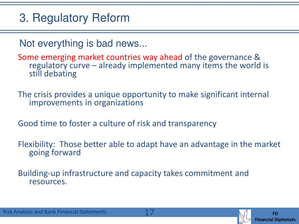 3. Regulatory Reform