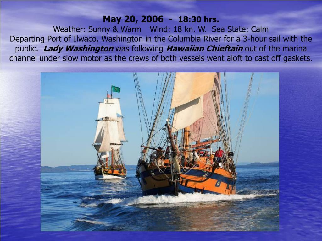 May 20, 2006  -