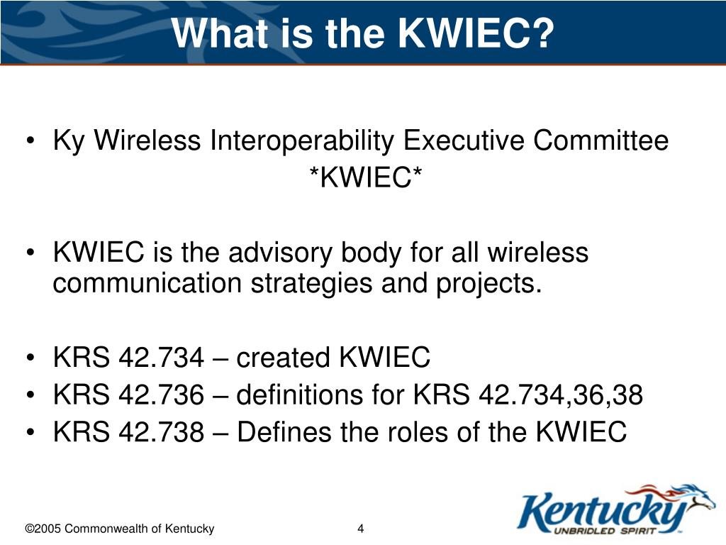 What is the KWIEC?