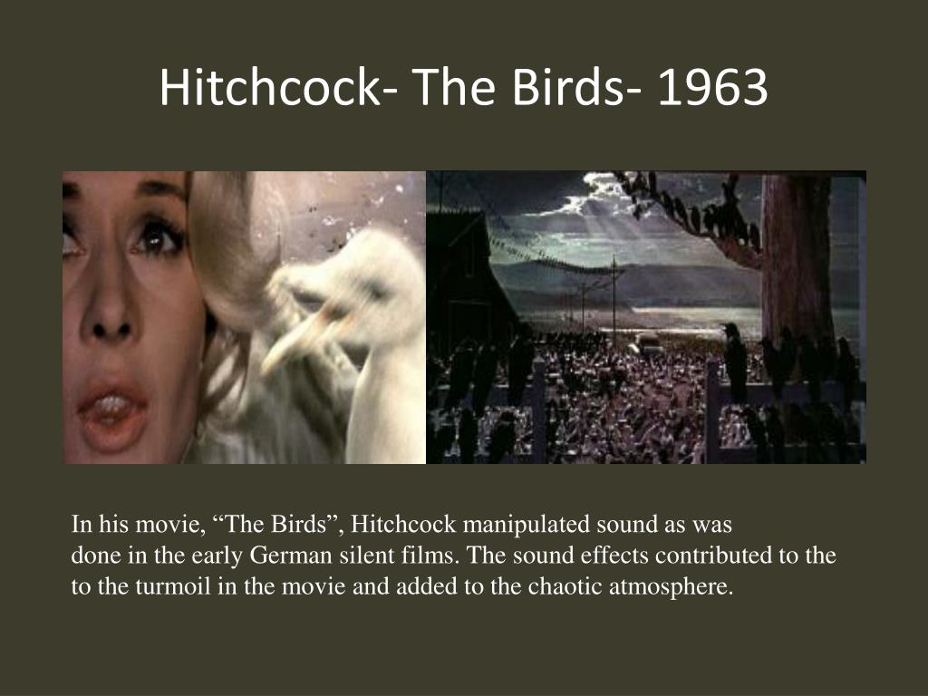 Hitchcock- The Birds- 1963