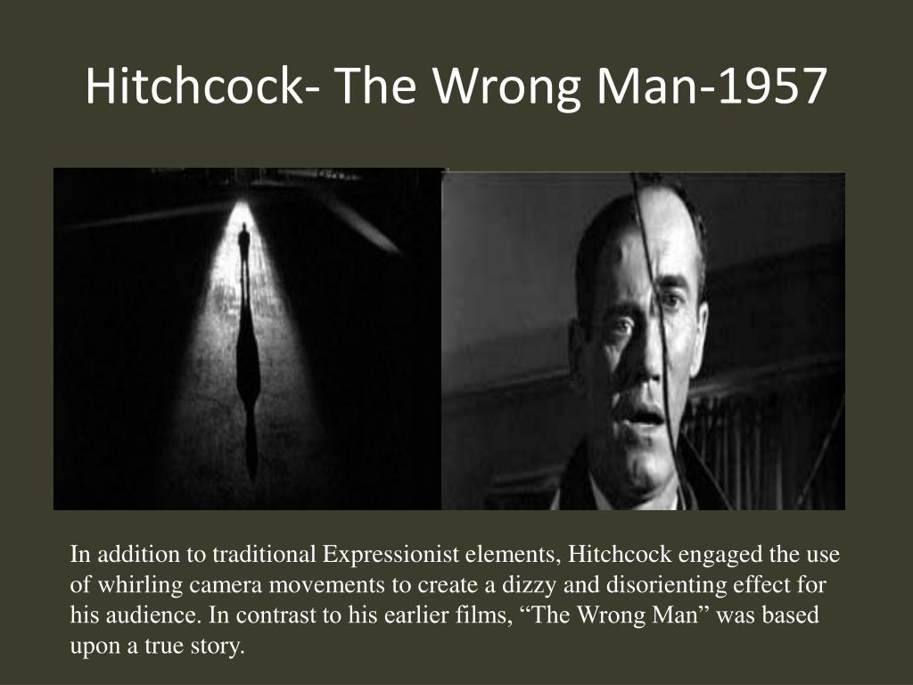 Hitchcock- The Wrong Man-1957