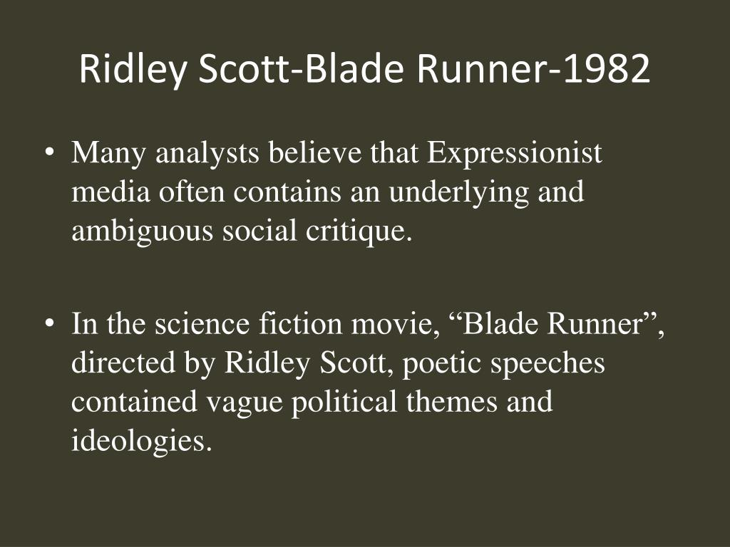 Ridley Scott-Blade Runner-1982