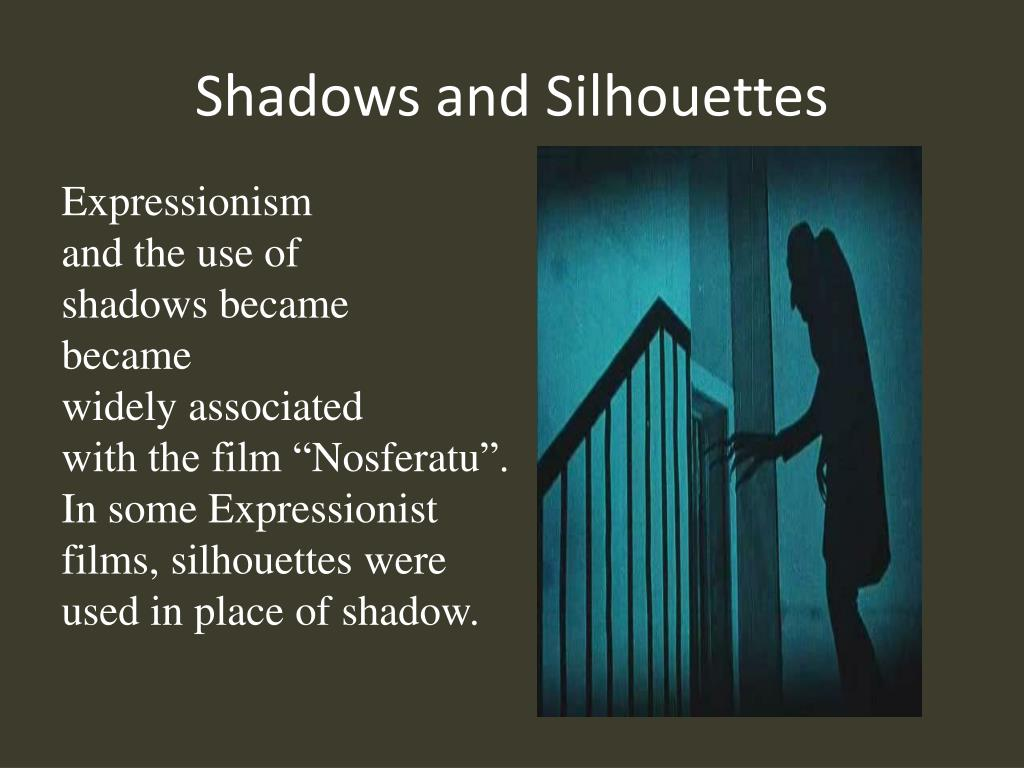 Shadows and Silhouettes