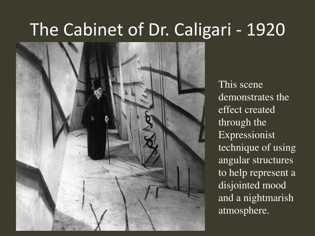 The Cabinet of Dr. Caligari - 1920