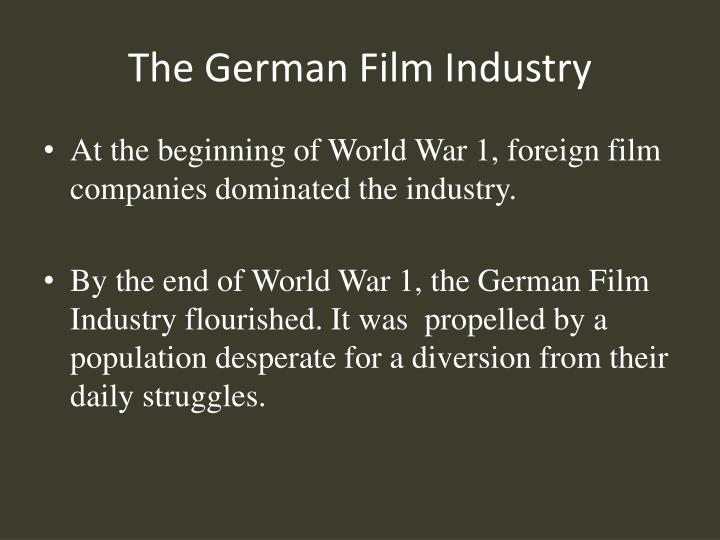 The german film industry