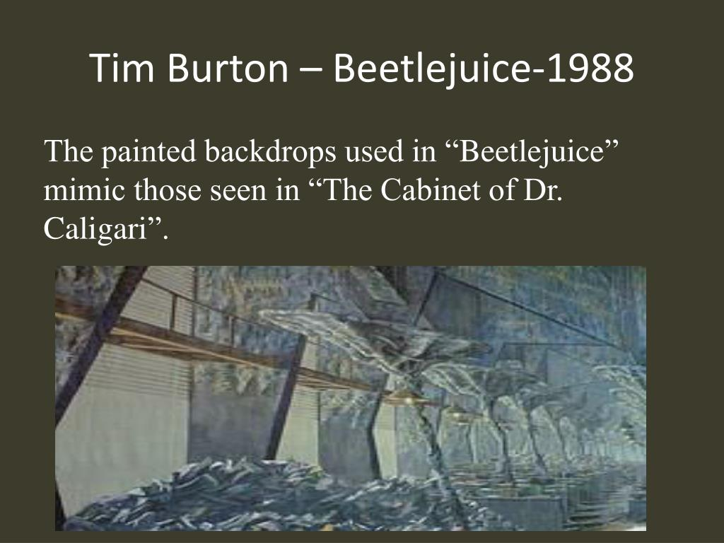 Tim Burton – Beetlejuice-1988