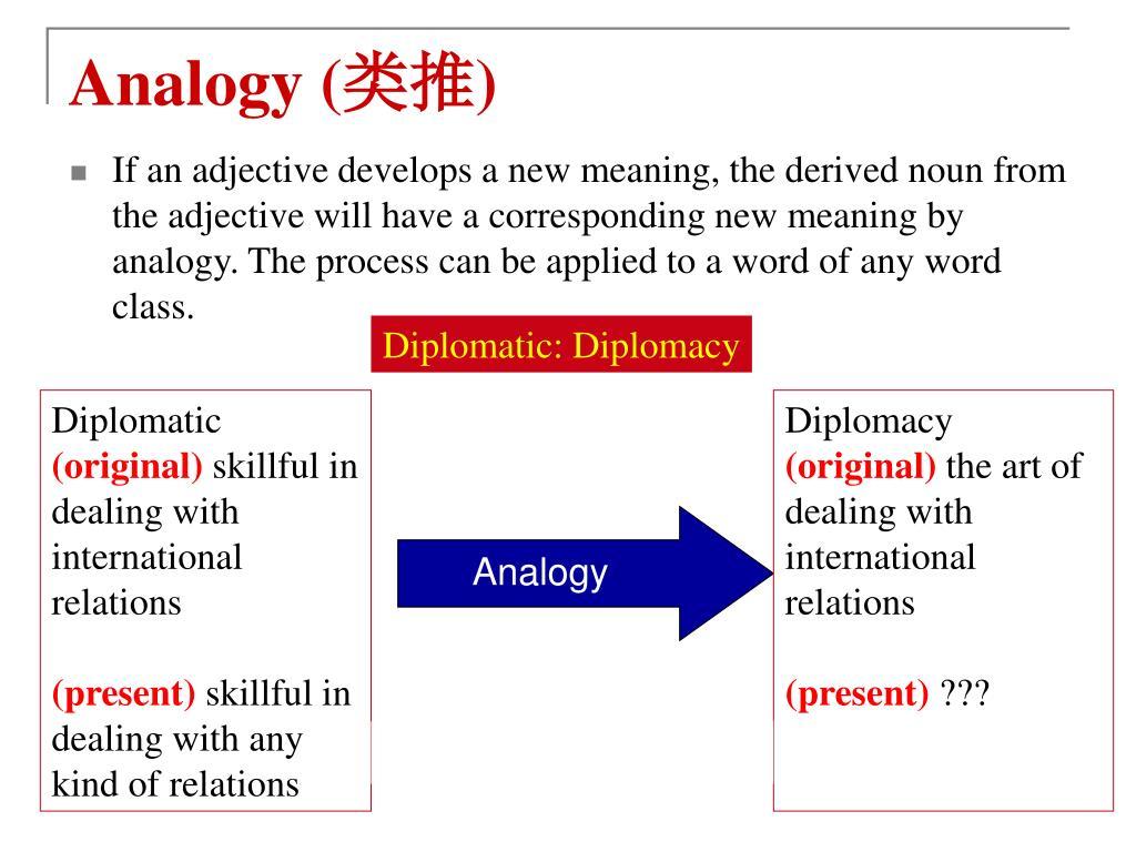 Analogy (
