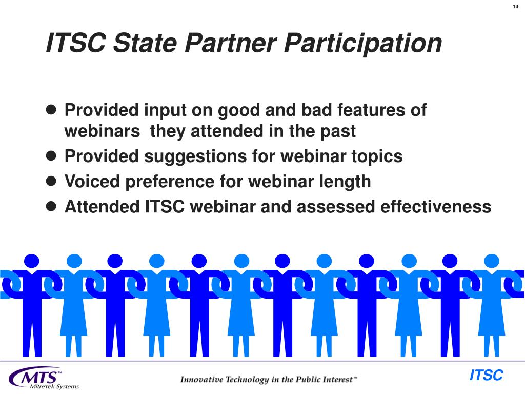 ITSC State Partner Participation