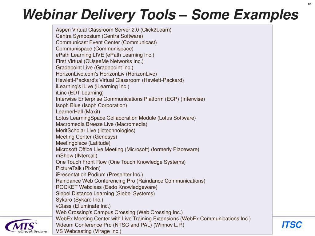 Aspen Virtual Classroom Server 2.0 (Click2Learn)