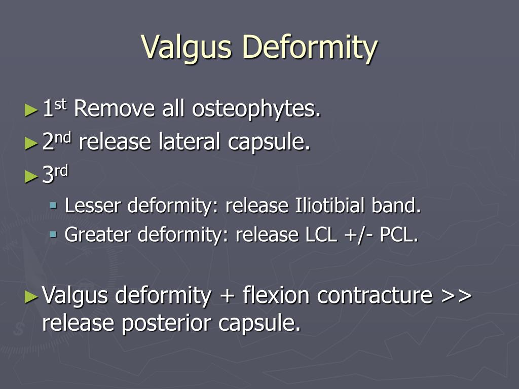 Valgus Deformity