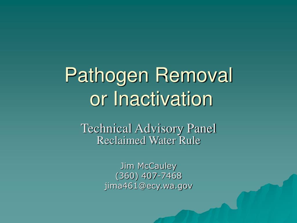 Pathogen Removal