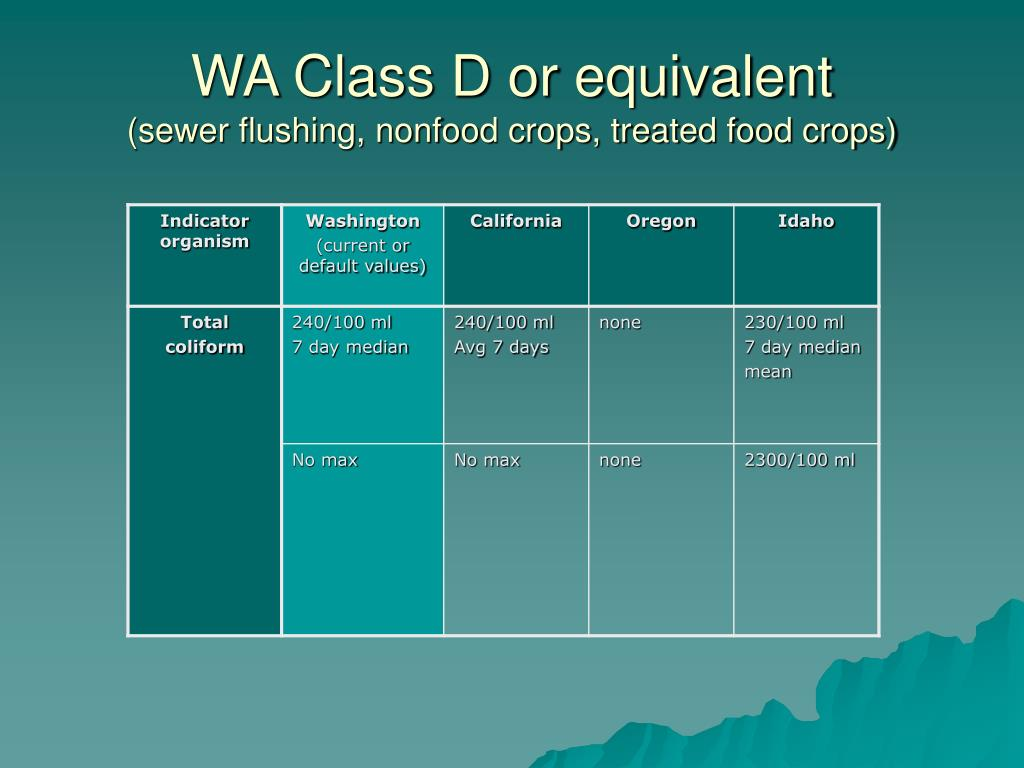 WA Class D or equivalent