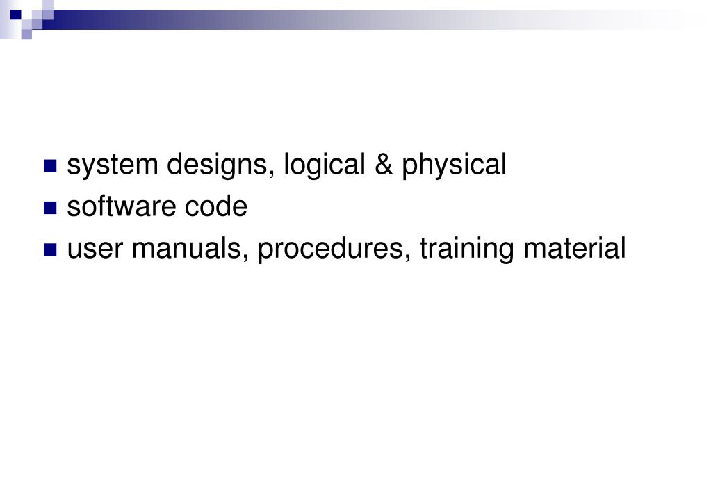 system designs, logical & physical