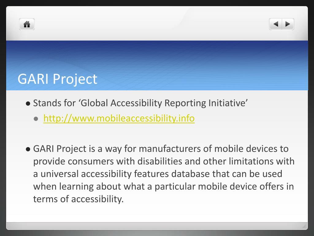GARI Project