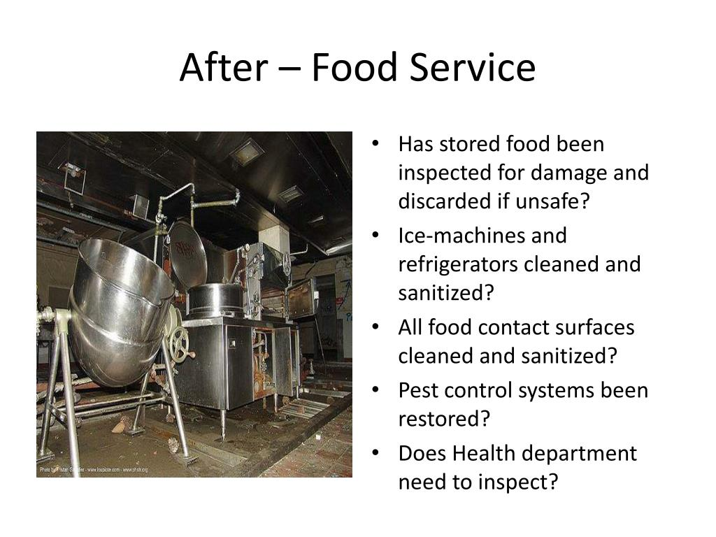 After – Food Service