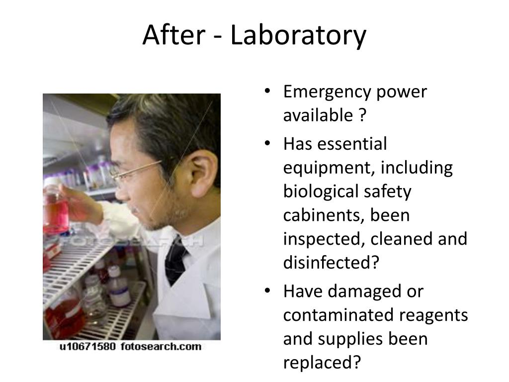 After - Laboratory