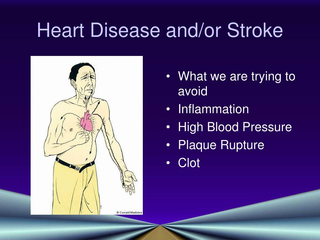 Heart Disease and/or Stroke