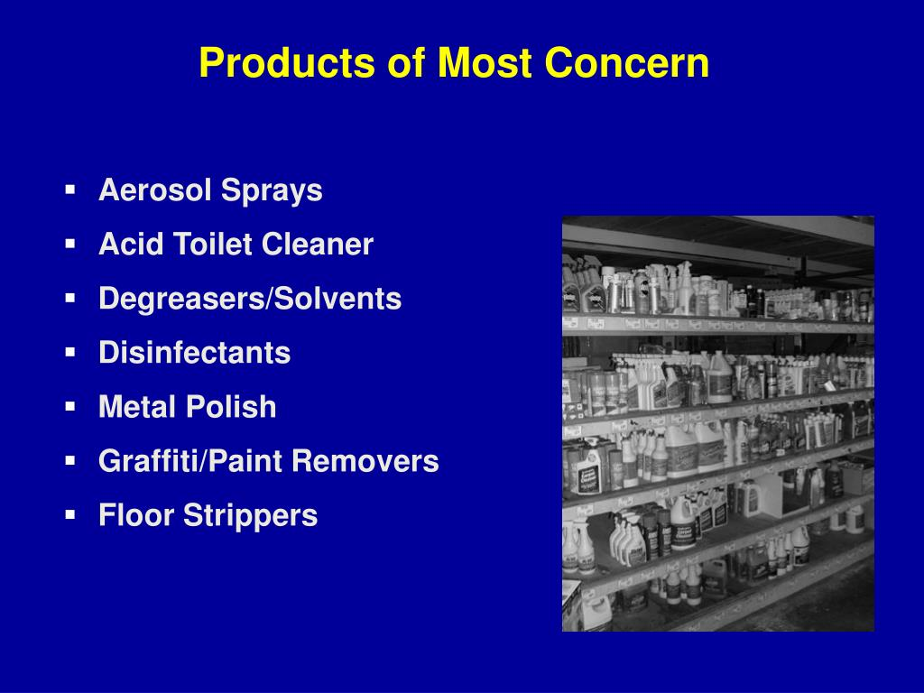 Products of Most Concern