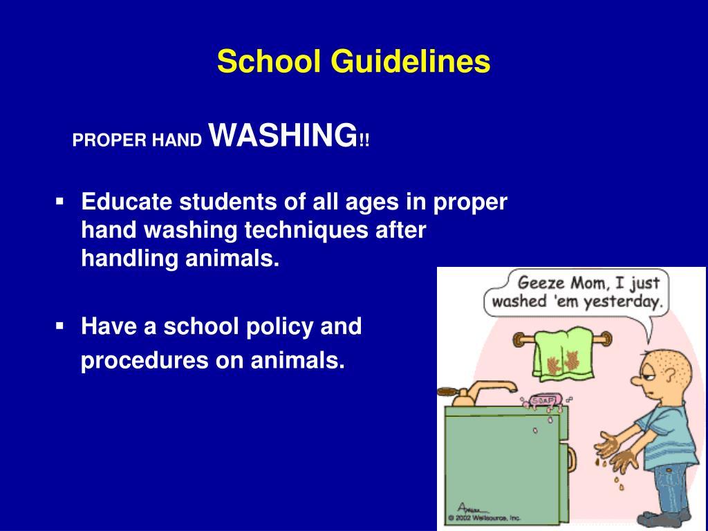 School Guidelines