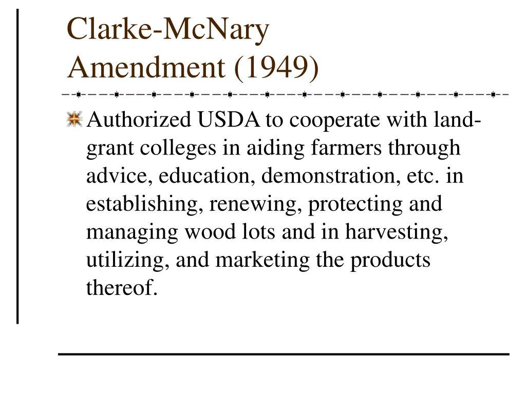 Clarke-McNary