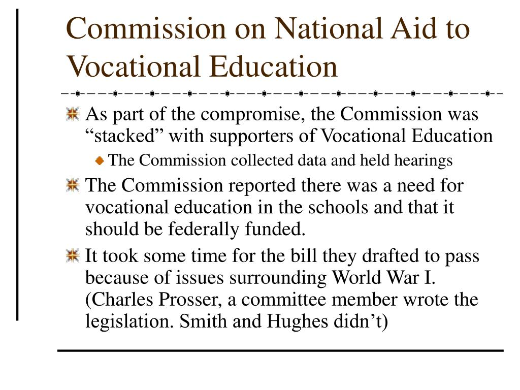 Commission on National Aid to Vocational Education