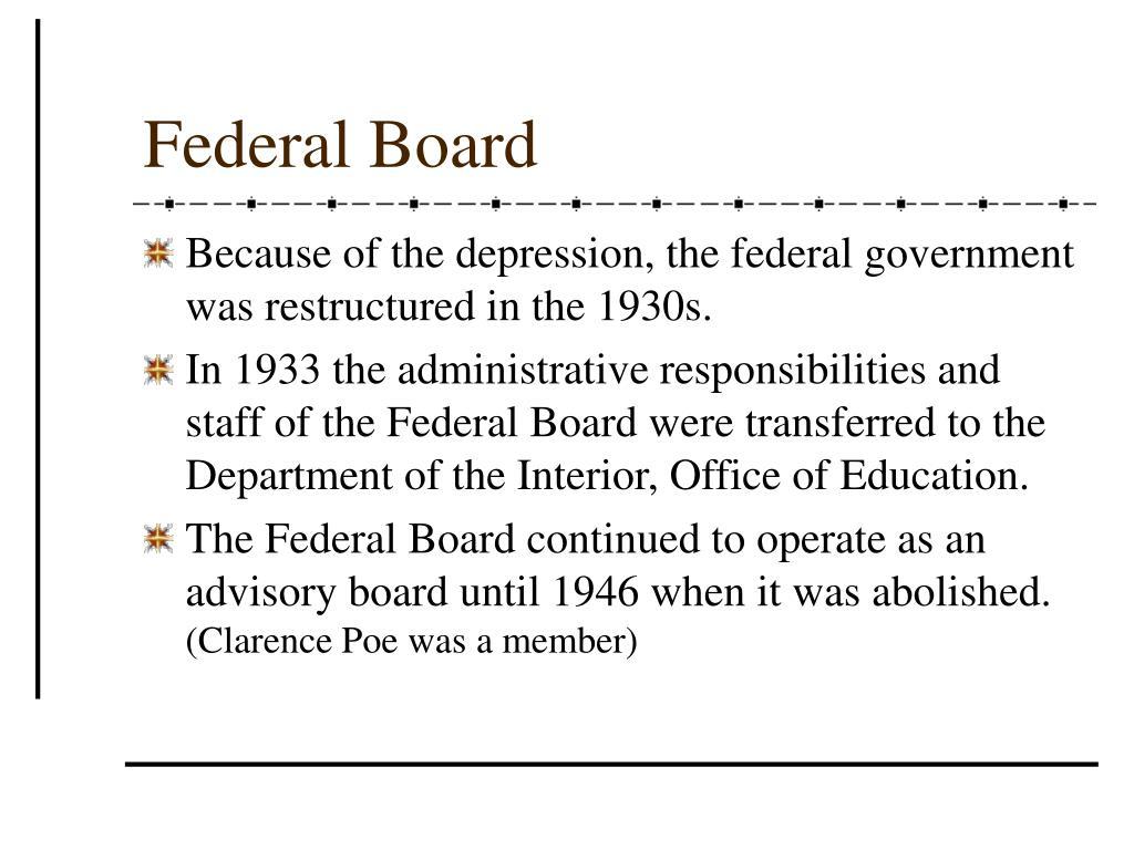 Federal Board