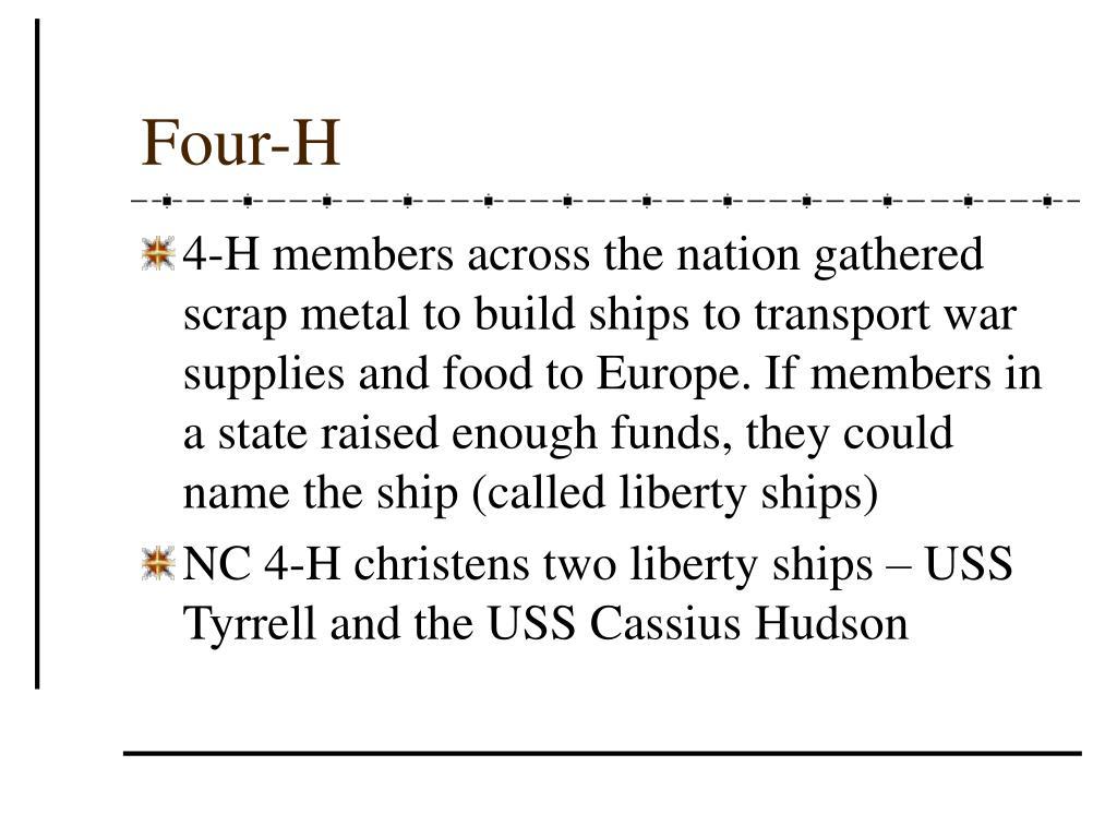 Four-H
