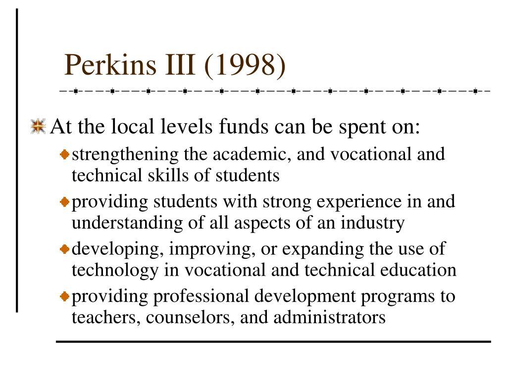 Perkins III (1998)