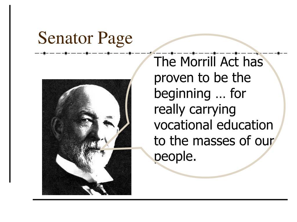 Senator Page