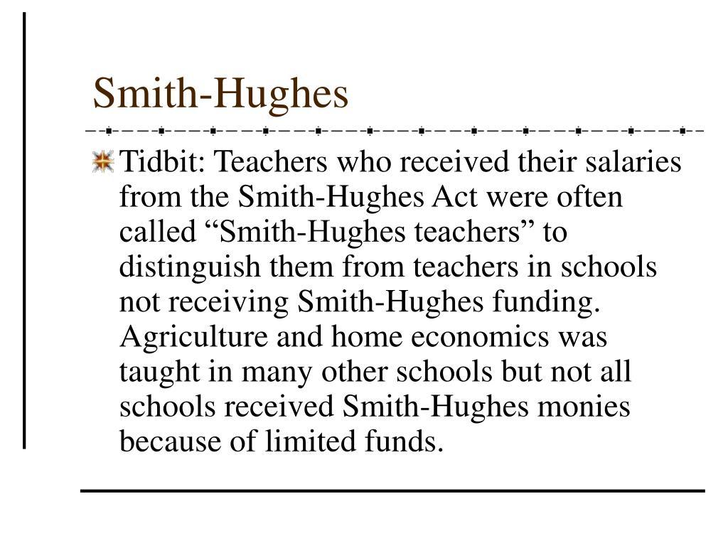 Smith-Hughes